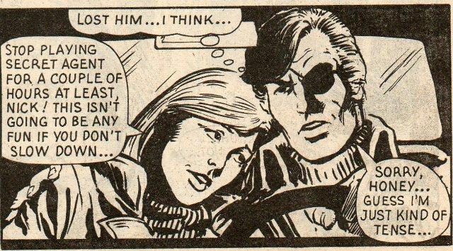 Nick Fury by Steve Dillon
