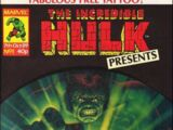 The Incredible Hulk Presents Vol 1