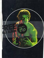 Hulk sticker album