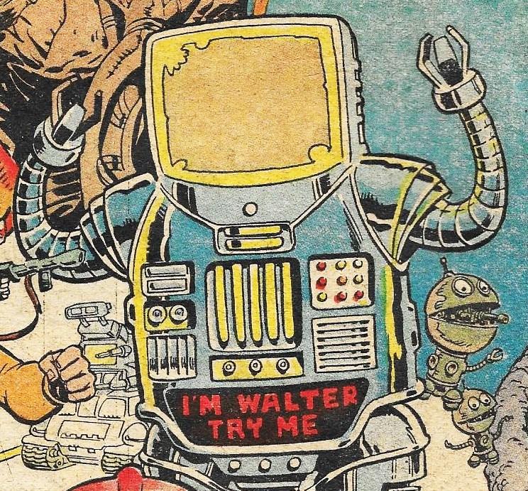 Image result for judge dredd robot war waLTER THE WOBOT