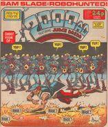 2000 AD prog 442 cover