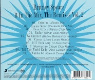 B In The Mix The Remixes Vol. 2 Back Cover