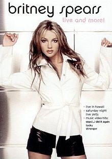 220px-Britney Spears - Live and More!
