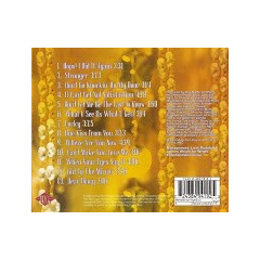 Back cover/Tracklisting. Depending on what territory the album was released, the tracklisting may vary.