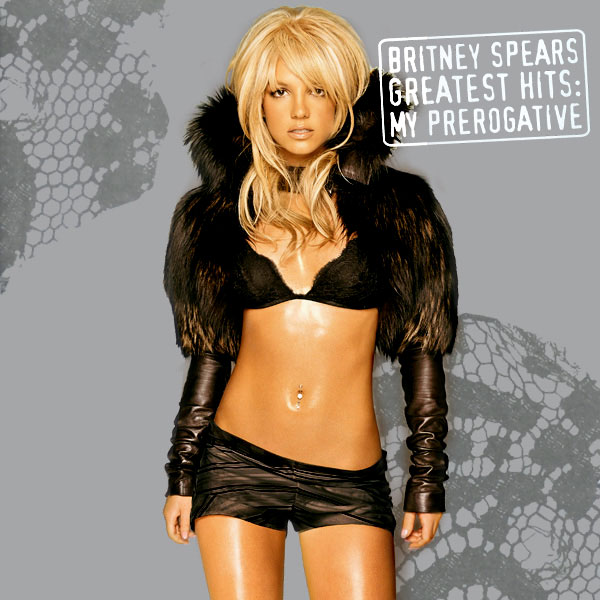 Image result for britney spears greatest hits my prerogative album cover