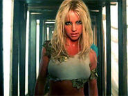 Britney Spears in The Music Video I'm A Slave 4 U