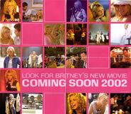Britney Booklet Poster (side 2 - Crossroads promo)