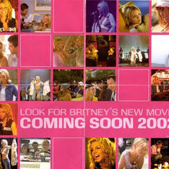 Side 2 of the limited poster. It promotes Spears' then-upcoming film Crossroads.