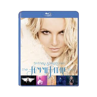 The Blu Ray of The Femme Fatale Tour DVD
