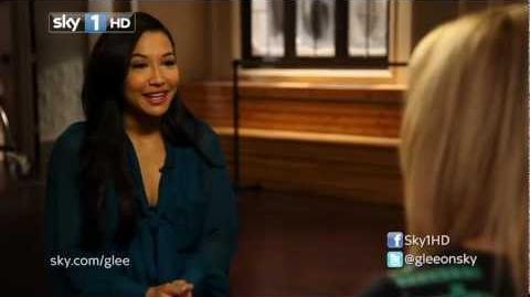 I Heart Glee - Naya Rivera Interview-1