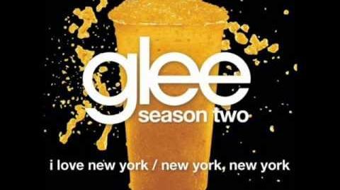 Glee - I Love New York New York, New York (lyrics)
