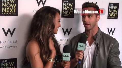 Naya Rivera confirms dating Big Sean backstage at Logo NewNowNext Awards 2013