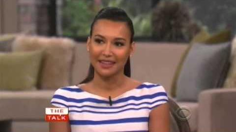 Good Quality Glee's Naya Rivera on The Talk (Mar 20, 2013)