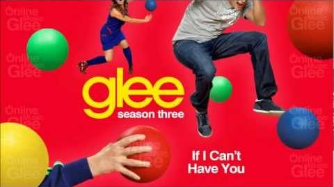 If I Can't Have You - Glee HD Full Studio