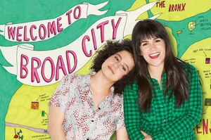 Broad city map