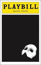 The Phantom of the Opera Playbill