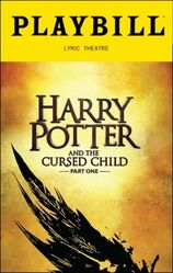Harry Potter and the Cursed Playbill Part 1