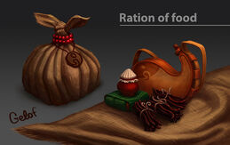 Ration of food by Gelof