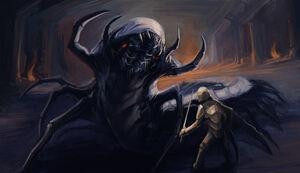 Dungeon centipede by upsidedownbattleship-d4gp42l