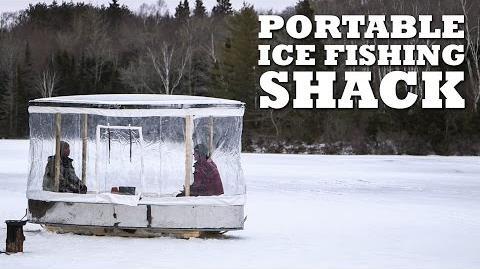 DIY PORTABLE Ice Fishing Shack