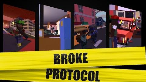 Broke Protocol City Life Roleplaying Game Teaser