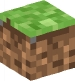Minecraft head grass