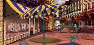 Cafe de la Chandelle Verte