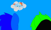 SonicCreepermanRainbowDash