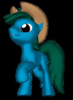 Wafer Green 3D