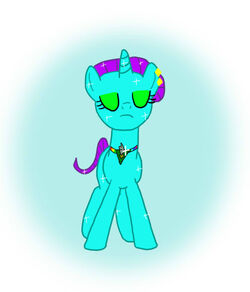Primson turning into a unicorn