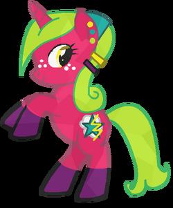 Crystal Pony SparkleSky