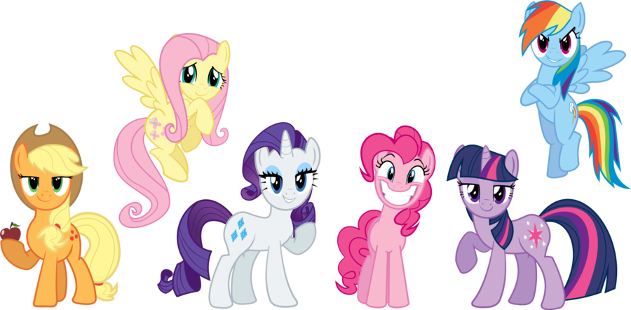 Image mane bronies wiki fandom powered by wikia for Mlp coloring pages mane 6
