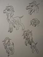 Finn goblin pony by aniju aura-d6s84r7