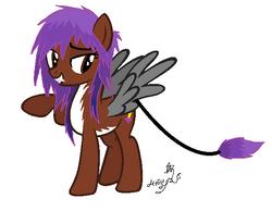 Slasho as a Pony