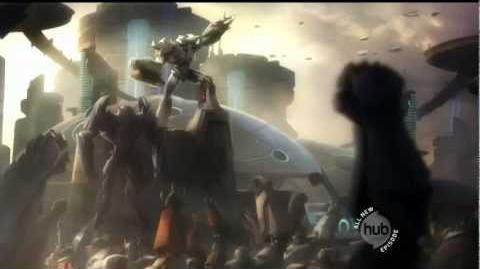 TFP Optimus Prime and Megatron Origins Orion Pax and Megatronus