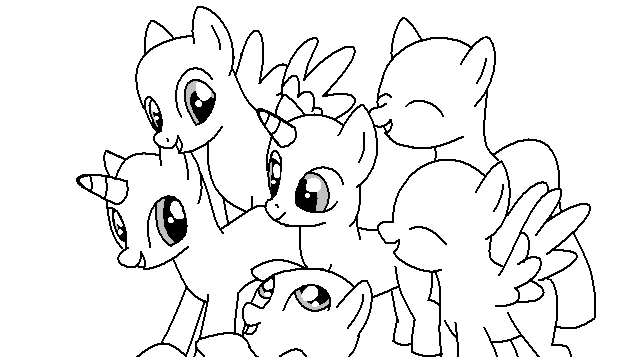 Image Mlp Group Base Png Bronies Wiki Fandom Powered By Wikia