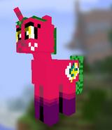 Minecraft Skin Sparkle Sky