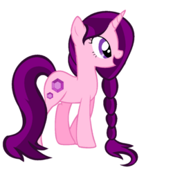 Unnamed OC Pony Unicorn LUNAFLAIRE