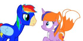 Speedbolt and Pocohantas