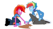 Equestria girls feathermay and rainbow blitz by offical lunaflaire-d723wd5