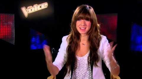 "The Voice Season 6 ""Battle Rounds"" Team Adam Christina Grimmie Interview"