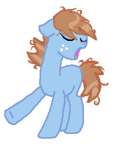 Cinnamon, what happened to your mane