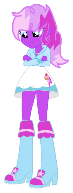 Equestria Girls Cupcake Bolt