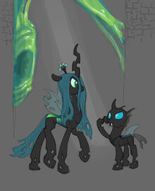 Changeling concept the chrysalis hive by siansaar-d5q1rdc