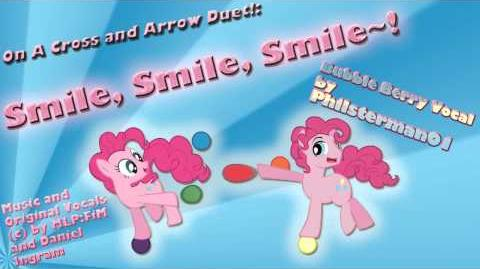 On A Cross and Arrow Duet! Smile, Smile, Smile~!