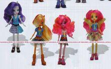 Wondercolts Equestria Girls Friendship Games Dolls