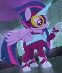 Twilight power ponies