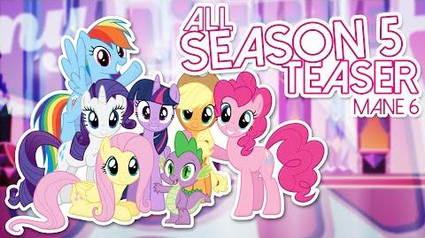 ᴴᴰAll My little Pony Friendship Is Magic Season 5 Mane 6 Teaser