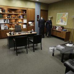 Büro des Captains