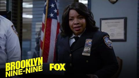 Terry's Ex Arrives To Evaluate The Precinct Season 4 Ep. 14 BROOKLYN NINE-NINE